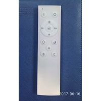RF remote control LED residential lighting Intelligent control dimmer white rectangular 2.4G