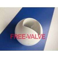 Pneumatic Zirconia High Anti-Corrosion Ceramic Lined Ball Valve