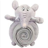 Plush Elephant Picnic Blanket Stuffed&Plush Animal Toys Soft Toys/Peluches/Giocattoli Di Peluche/Jug