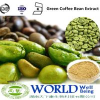 High Quality Green Coffee Bean Extract Powder Chlorogenic acids 50% 60%