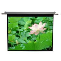 in ceiling motorized projection screen thumbnail image