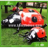 KAWAH ourdoor playground Animatronic Ladybug simulation insect model thumbnail image