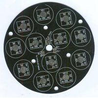 Black Aluminum-Base PCB