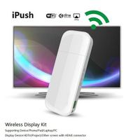 ipush DLNA Wifi Display Dongle Receiver for Smartphone Tablet PC Wireless HDMI Multi-media Sharing M