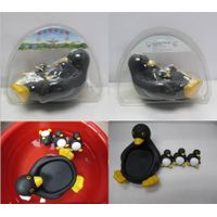 cheap lovely plastic penguin  figures