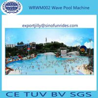Wave machine pool wave pool