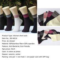 bamboo fiber woman sock