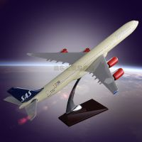 The Model of Airplane for Sale OEM Airbus 340 SAS Airlines Model Resin crafts Customized Gift