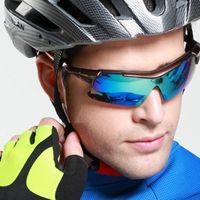 Colorful Optional Big Promotion Men Sunglasses 2018 Popular Cycling Bicycle Sun Glasses UV400