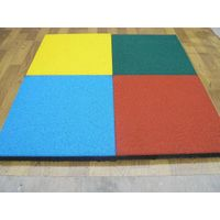 Color EPDM rubber flooring tiles