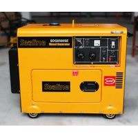 5KVA/5KW Portable Silent Type Diesel Generator