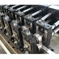 Hollow aluminum spacer bar production line