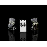Acrylic earring holder
