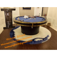 hot sell round billiard pool dinning table thumbnail image