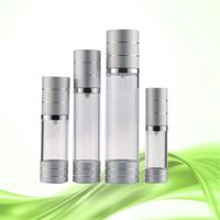 customized 15ml 30ml 50ml stock aluminum plastic airless pump bottles for sale from china thumbnail image