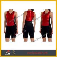 2015 Women's Tri Suit Lively Custom Sublimation Spandex Triathlon suit