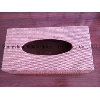 leather home paper box, office desktop tissue box, car paper box, tissue box PJ-007