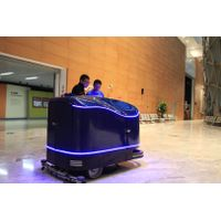 Automated floor cleaning machine