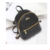 Hot Pu Leather Bag For Youth Casual Fashion Backpack
