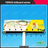 Q235 Stainless steel 155m scrolling billboard for advertisement