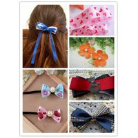Ribbon of different size and colour for hair clips DIY thumbnail image