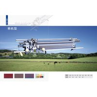 korea type hand driven flat knitting machine