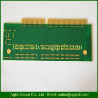 4 Layer PCB Circuit boards with gold connector from Agile Circuit Co., Ltd thumbnail image