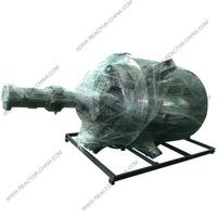 Sanitary stainless steel jacketed heating pharmaceutical reactor