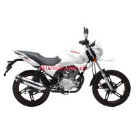 Power street bike with electric starting racking bike motorcycle