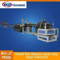 Inlaid flat dripper style drip tape machine thumbnail image