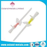 Hospital Disposable I.V Cannula with Wing Medical Manufacturer of Insulin Cannula Dressing I.V Cannu