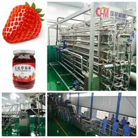 Strawberry jam production line machine