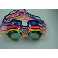 Electroplating PC lens silicone swimming goggles thumbnail image