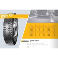 TBR Truck Tire Mix Road Short Haul YTH17