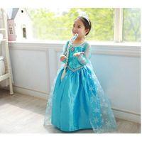 2015 frozen princess dress trade dress for girl thumbnail image