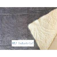 Velvet sherpa quilt