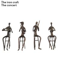 China sculpture or iron Crafts and Gifts or Handicrafts the concert made by iron thumbnail image