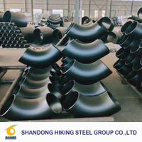 carbon steel pipe fittings a234wpb sch40 ansi b16.9 seamless fittings