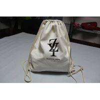 backpack cotton drawstring bag