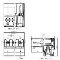 FPC2.5-XX-508-17 pcb screw block pluggable phoenix terminal block connector thumbnail image
