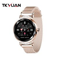 Women Smart Watch Physiology Periodic Monitor Blood Pressure Heart Rate Waterproof Woman Smartwatch thumbnail image