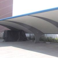 Customized and light car parking shade