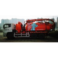 Combined Sewage Suction Truck