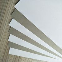 Cardboard Paper Manufacturer Coated Duplex Board Grey Back thumbnail image