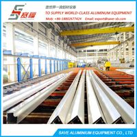 aluminium extrusion cooling table