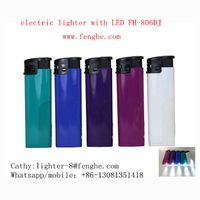 FH-806 disposable electronic lighter LED