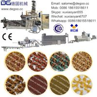 Automatic Pet/Dog/Cat/Fish/Pig/Animal Feed Pellet Extruder Machine Production Line thumbnail image