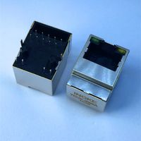 7499110120A YKGV-3096A Vertical Gigabit RJ45 Magjack Connectors