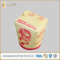 custom printed takeaway noodle box