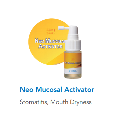 Neo Mucosal Activator Oral Spray for Sore Throat